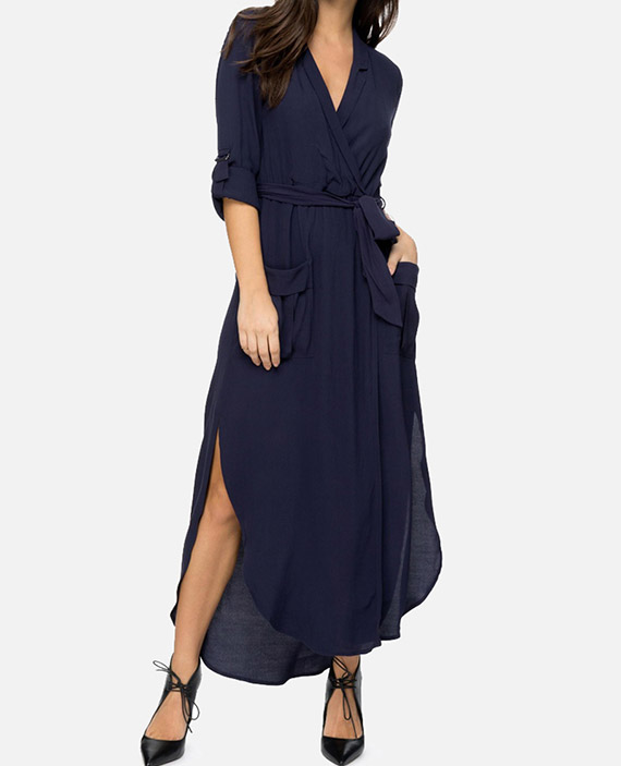 Midnight-Blue-Midi-Dress_Front