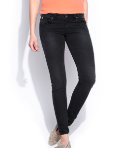 Women Black  Fit Pants