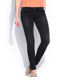 Women Black  Fit Pants