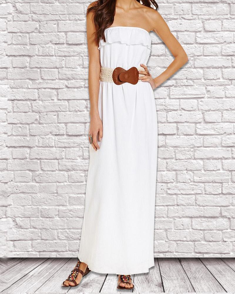 flow free maxi dress lurap