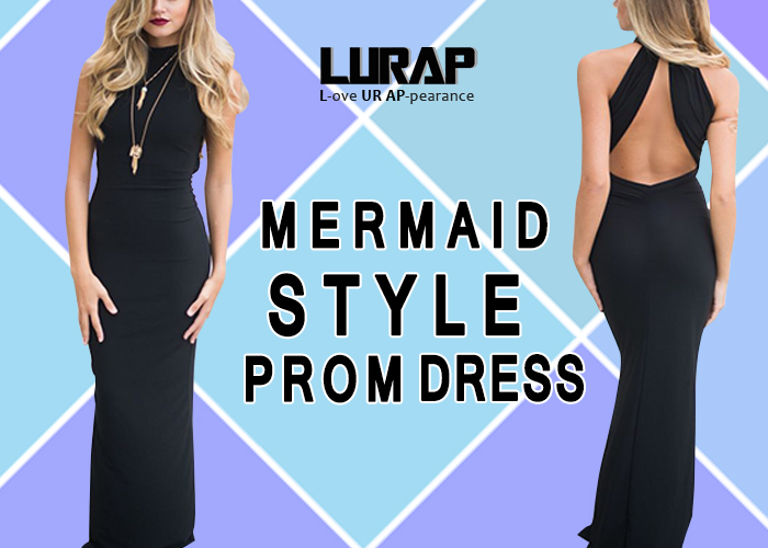 mermaid Style Prom Dress lurap