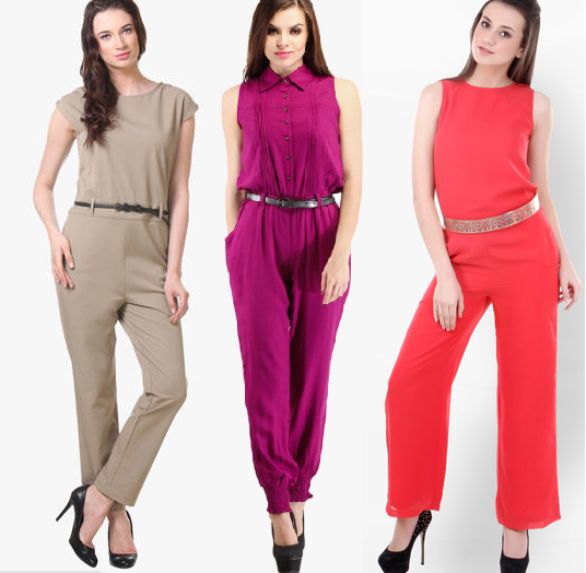Cute Stylish Jumpsuits with Belt