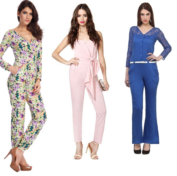 Solid & Printed plus size petite jumpsuits