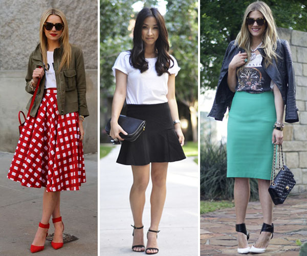 Casual and Chic style A-Line Skirts For Plus Size