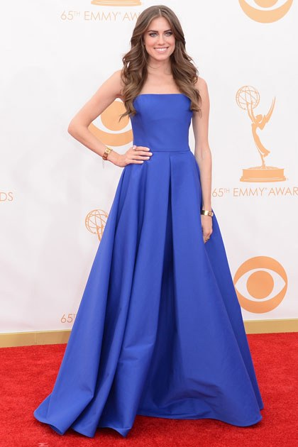 The Gorgeous Blue dress Allison Williams