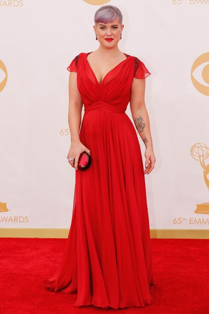 The Ravishing Red dress Kelly Osbourne