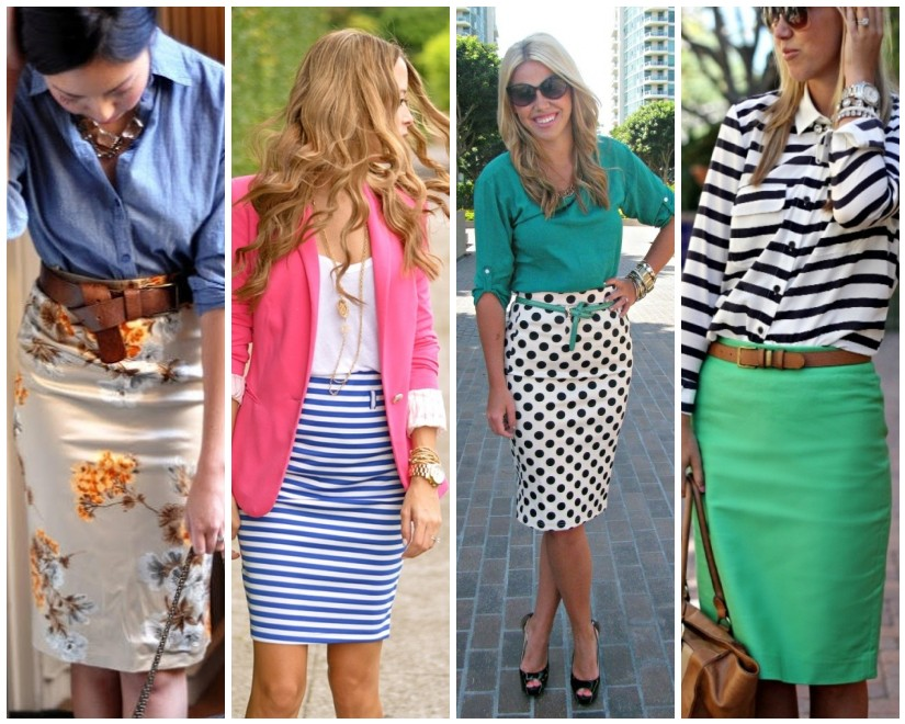 The Right Fit for Plus size women pencil skirts