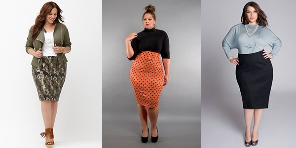 Plus Size Fashion Guide For Buying Pencil Skirt
