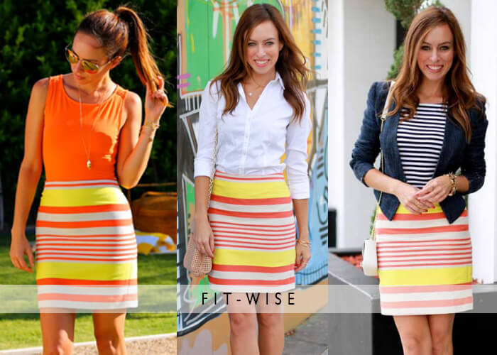 summer plus size pencil skirts