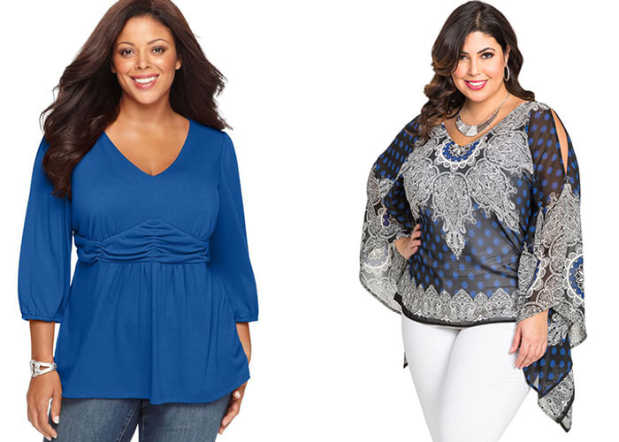plus Size Cut tops