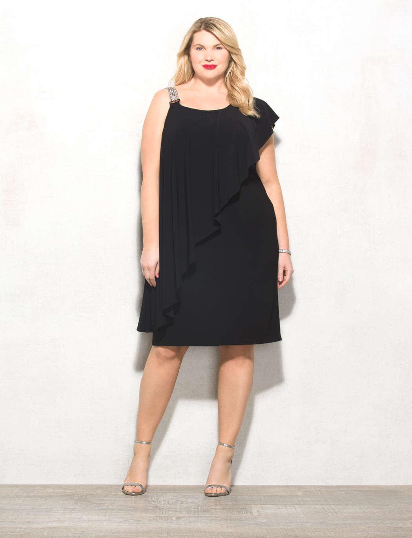 LBD plus size dresse for women