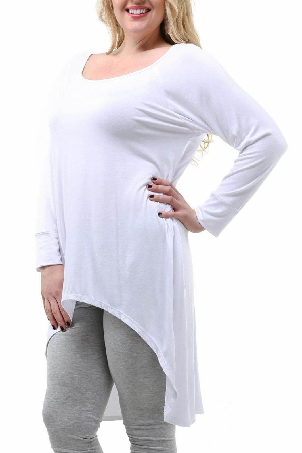 long Tunic plus size women