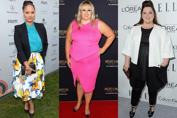 Hollywood Plus Size Celebrity Styles