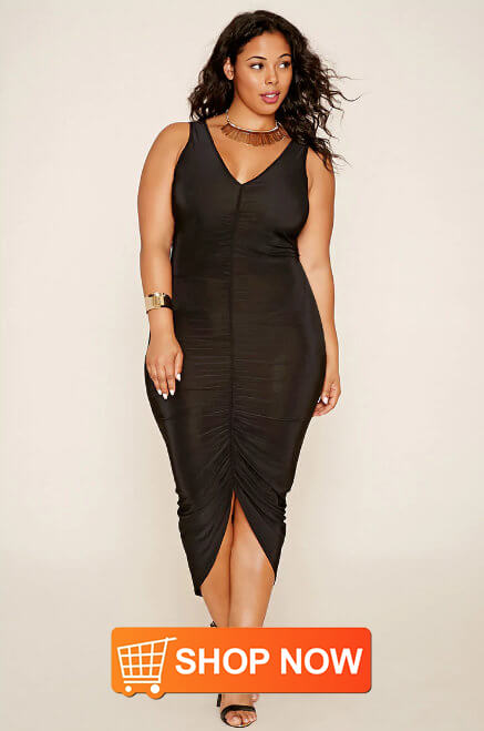trendy plus size women's dresses