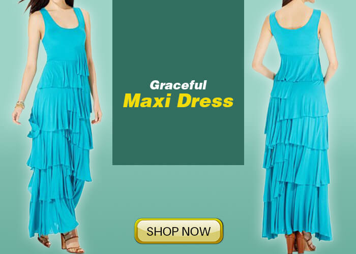maxi dress for party