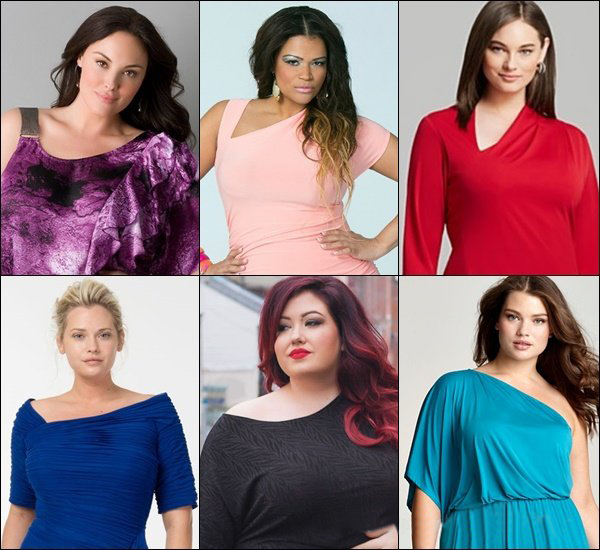 Sexy plus size fashion tops