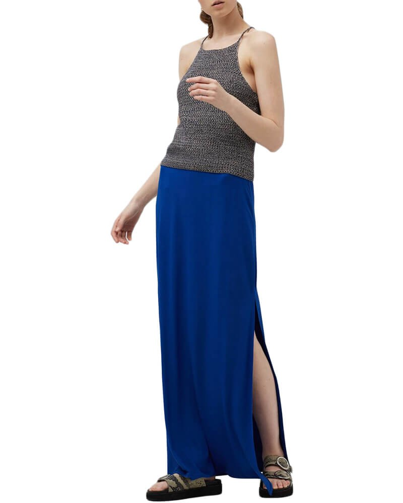 Side Slit long maxi Skirts for Women