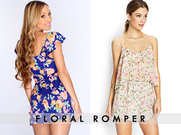 floral Romper For women