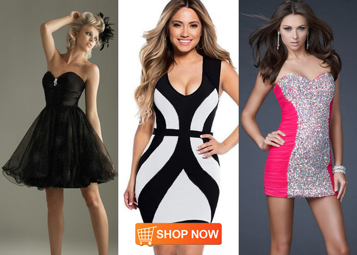 online women black cocktail dresses