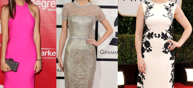 Get inspired by celebrity styles in cocktail dresses