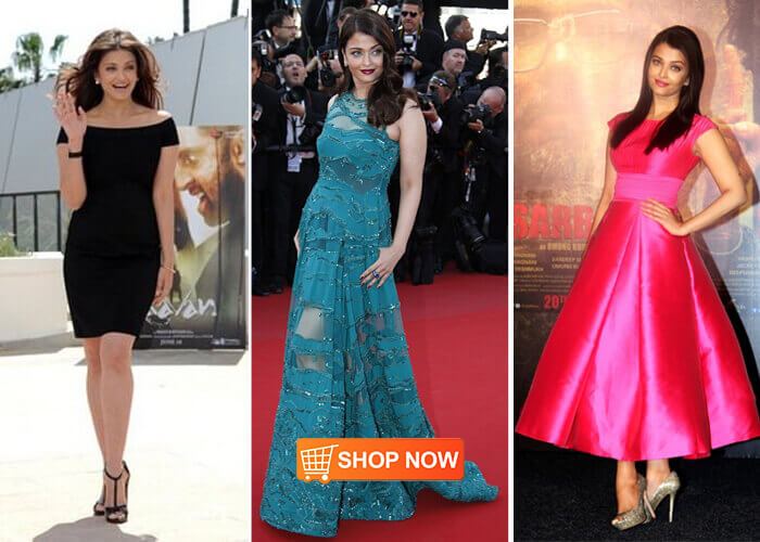 Celebrity style inspired dresses online