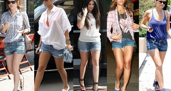 Shorts are Hot: Celebrity Styles in Short Shorts!