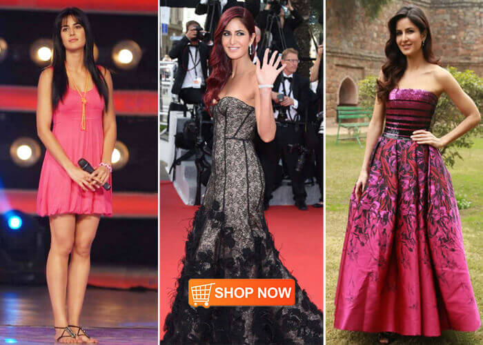 Bollywood celebrity inspired dresses online shopping