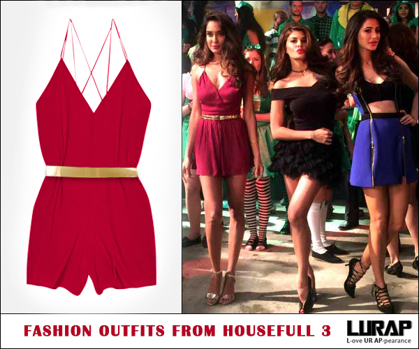 Fashion Outfits From Housefull 3