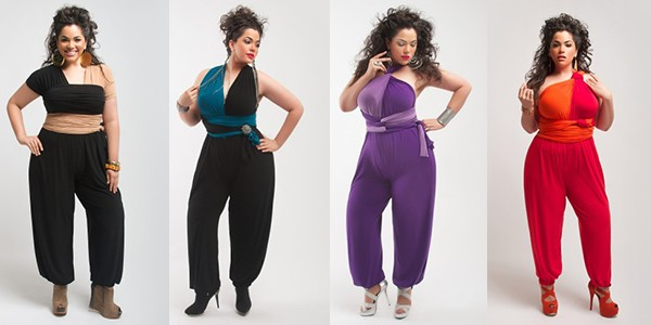 Fashion Rules For Plus Size Women's Jumpsuits