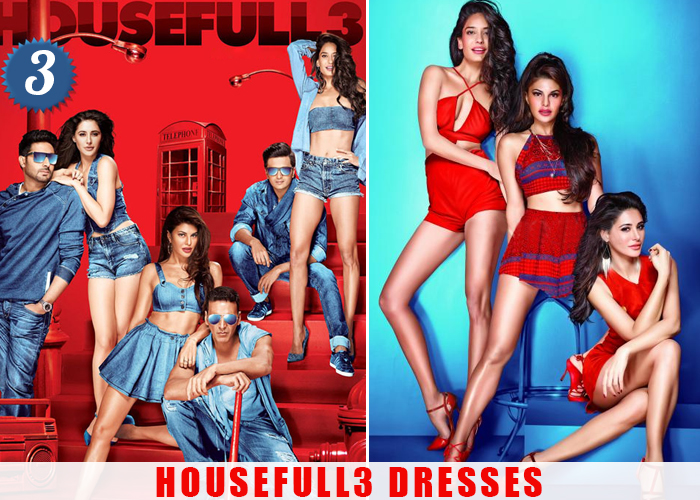 housefull 3 outfits