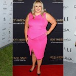 Hollywood Celebrity Styles with Sexy Plus Size Fashion Tops
