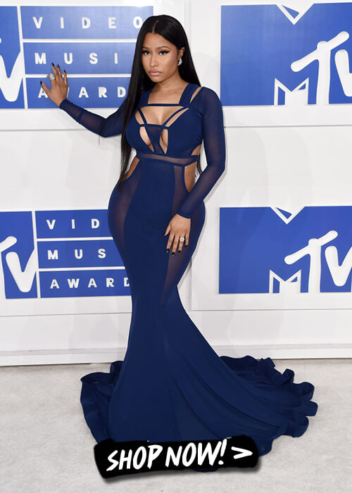 Nicki Minaj, the mermaid beauty