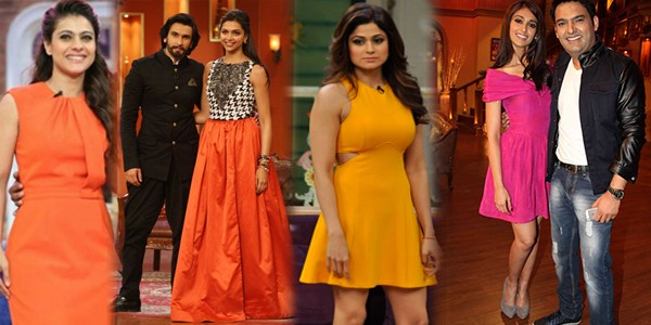 Top Celebrities Wearing Sexy Dresses on Kapil Sharma Show