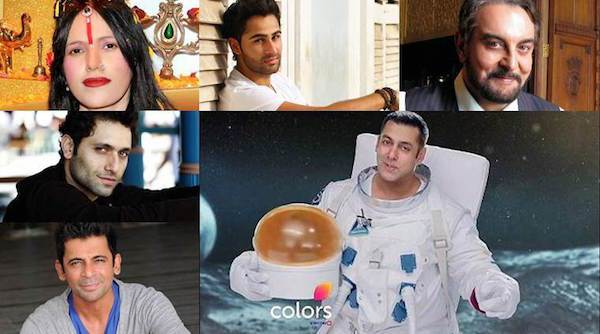 Bigg Boss season 10 on Colors TV Channel contestant name