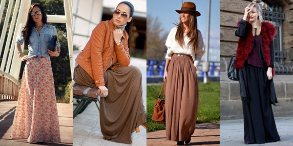 How To Dress In Maxi Skirts For Women This Fall-Winter