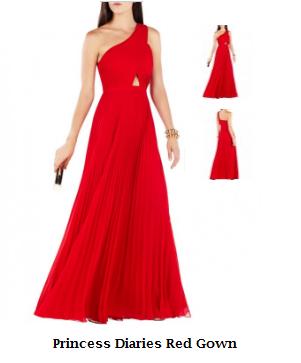 Princess Diaries Red long maxi women dress Emmys awards