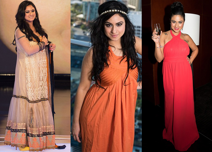 Priya Malik Bigg Boss season 9 contestant plus size cocktail dresses for women