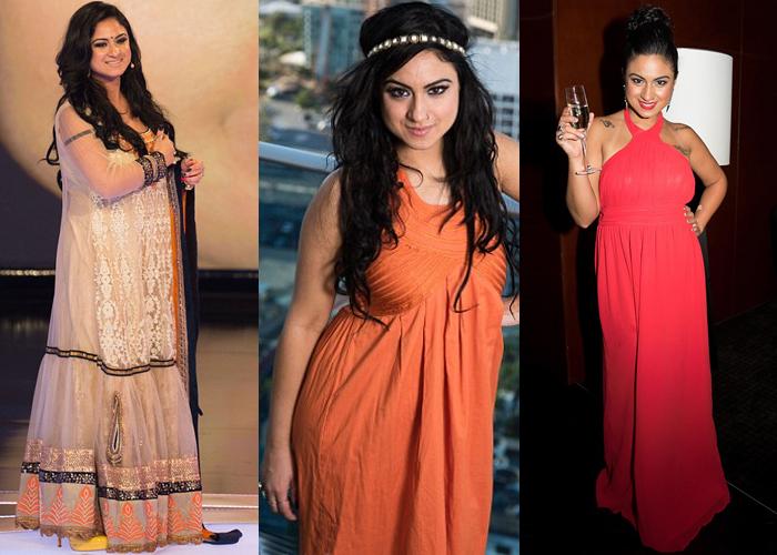Priya Malik Bigg Boss season 9 contestant plus size cocktail dresses for women