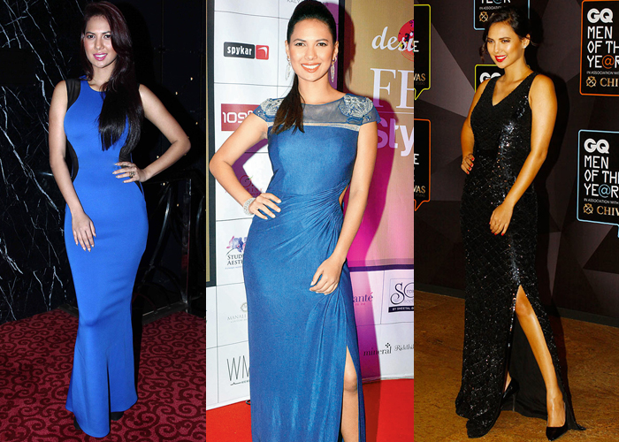 Rochelle Rao Bigg Boss season 9 contestant party cocktail dresses for women