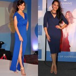 Bollywood Celebrity Style Inspiration for Solid Color Dresses for Ladies