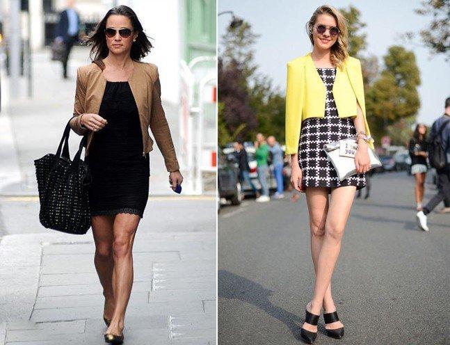 partywear little black dresses for women with blazer