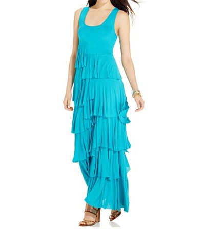 Graceful Maxi cocktail fit & flare dresses for women