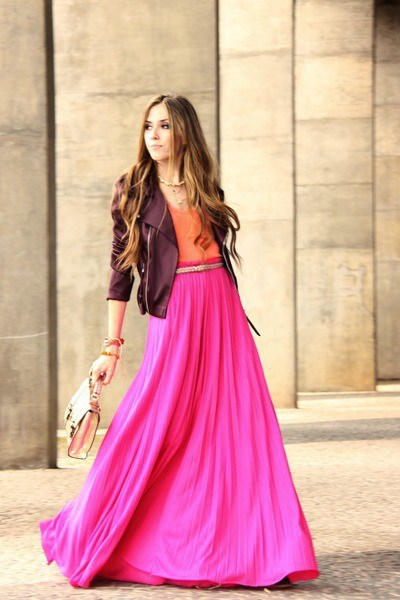 maxi skirts for women with jackets