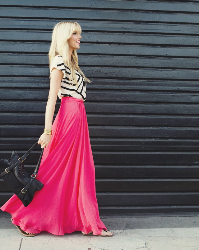 maxi skirts for women with pattern Top