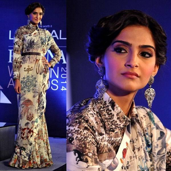 Offbeat Saree Gown