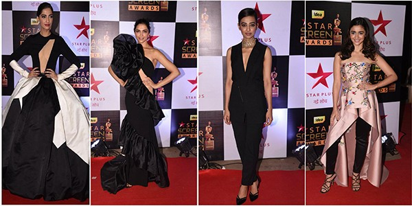 Star Screen Awards: Bollywood Actresses Dazzled In Their Sizzling Outfits At The Red Carpet