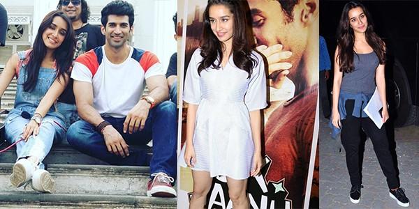 """Shraddha Kapoor Rocks The-Girl-Next-Door Look In """"Ok Jaanu"""""""