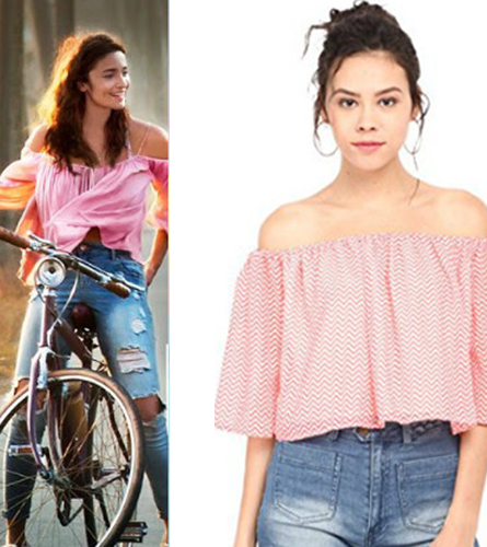 The Off-Shoulder top for women