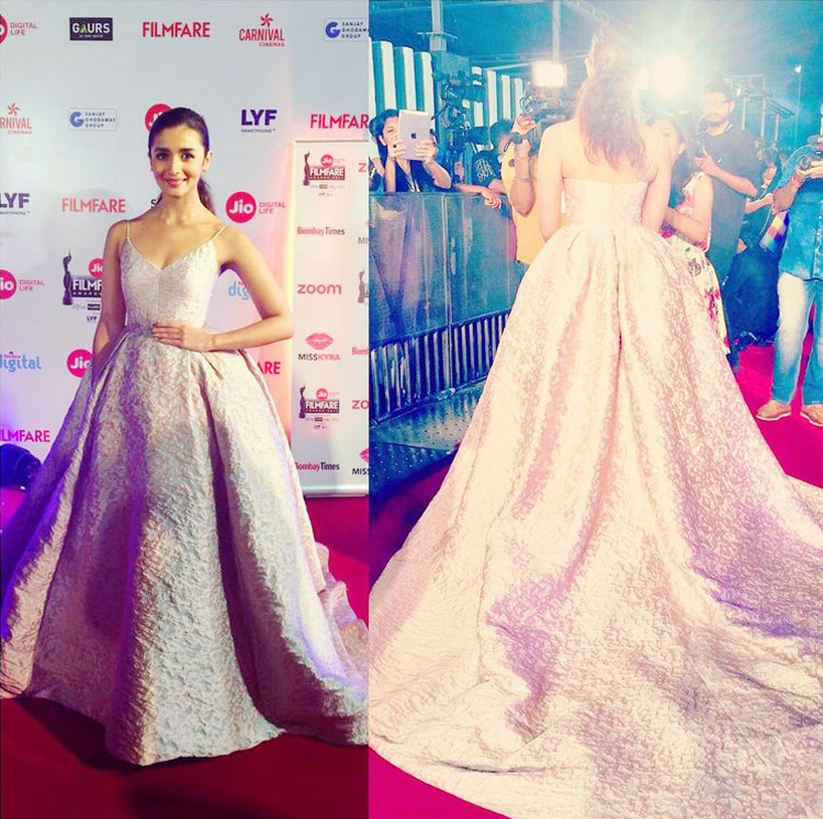 Alia Bhatt in an adorable gown