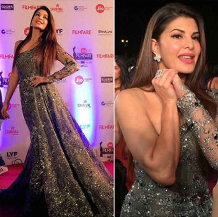 Jacqueline in super hot dress